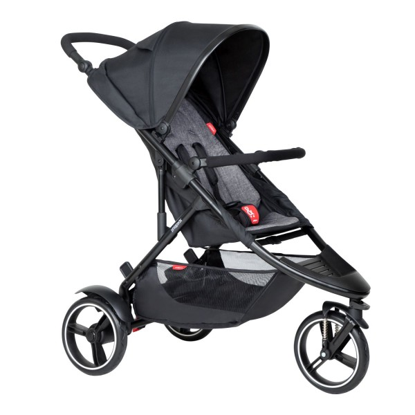 PHIL AND TEDS Dot buggy V6 charcoal single