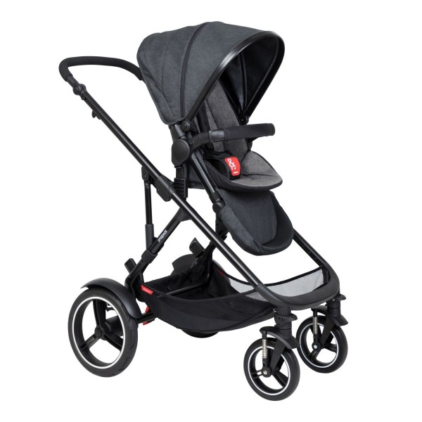 PHIL AND TEDS Voyager buggy V6 charcoal single