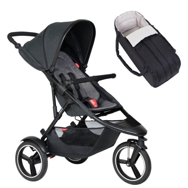 PHIL AND TEDS Dash buggy V6 charcoal mit Cocoon