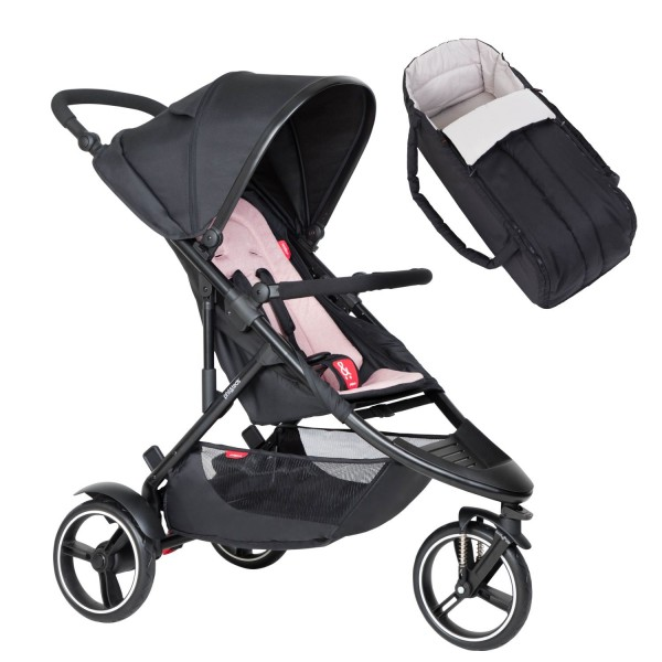 PHIL AND TEDS Dot buggy V6 blush mit Cocoon