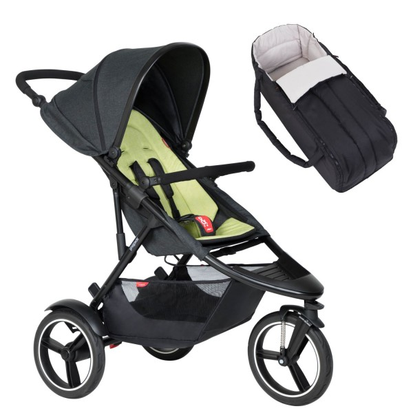PHIL AND TEDS Dash buggy V6 Apple mit Cocoon