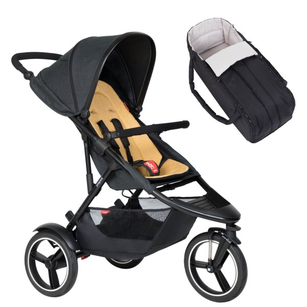 PHIL AND TEDS Dash buggy V6 butterscotch mit Cocoon