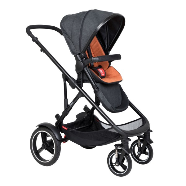 PHIL AND TEDS Voyager buggy V6 rust single