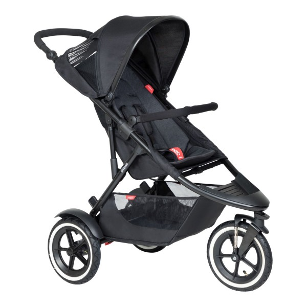 PHIL AND TEDS Sport buggy V6 single schwarz