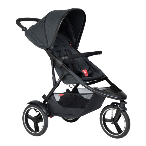 PHIL AND TEDS Dash buggy V6 black single