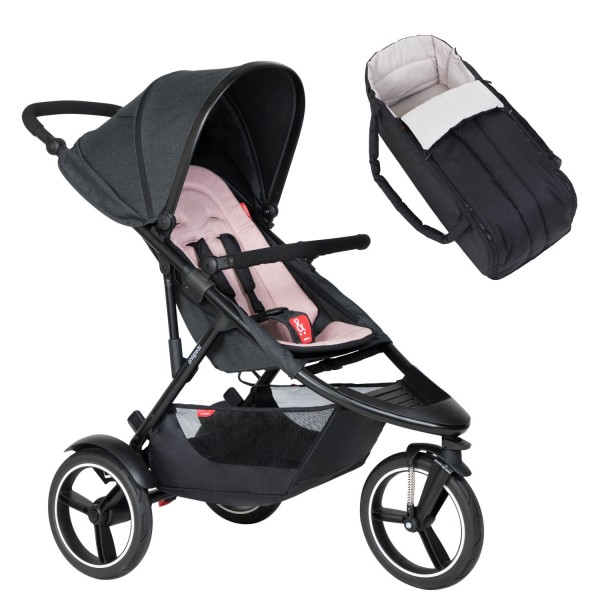 PHIL AND TEDS Dash buggy V6 blush mit Cocoon