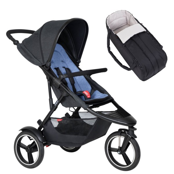 PHIL AND TEDS Dash buggy V6 sky mit Cocoon