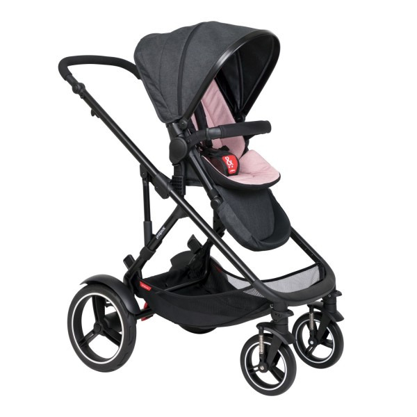 PHIL AND TEDS Voyager buggy V6 blush single