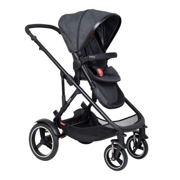 PHIL AND TEDS Voyager buggy V6 black single