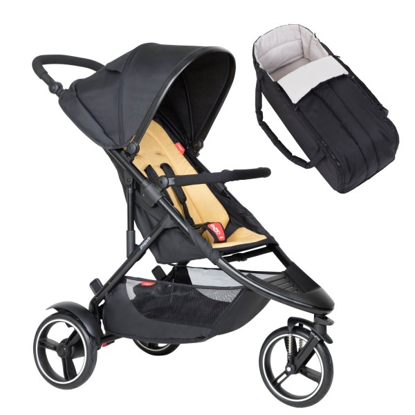 PHIL AND TEDS Dot buggy V6 butterscotch mit Cocoon