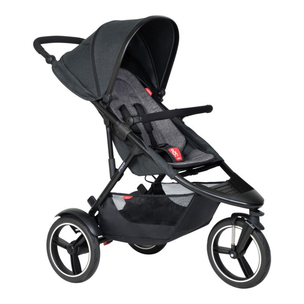 PHIL AND TEDS Dash buggy V6 charcoal single