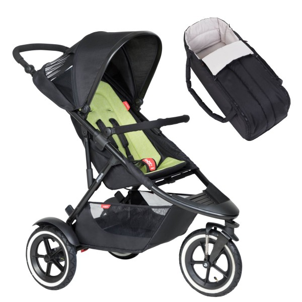 PHIL AND TEDS Sport Buggy V6 apple mit Coocon
